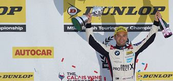 Colin signs off his toughest BTCC Season as Champion for the 3rd time